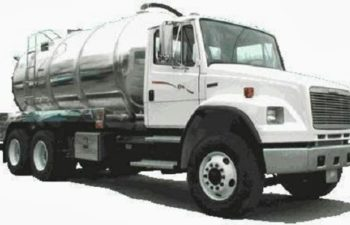septic pump truck